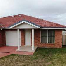 Rental info for 3 Bedroom Duplex in Hunterview Estate in the Singleton area
