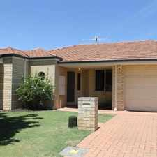 Rental info for ST MICHEL ESTATE in the Perth area