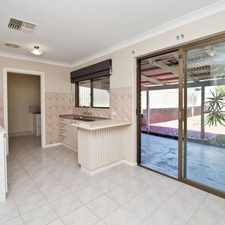 Rental info for GREAT HOME OPPOSITE SHOPS AND CLOSE TO TRANSPORT in the Marangaroo area