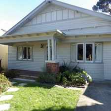Rental info for TUCKED AWAY IN SUMNER ESTATE - 6 MONTH LEASE ONLY