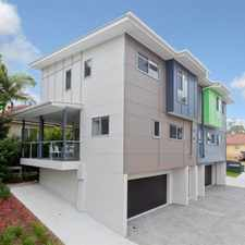 Rental info for Modern Townhouse - Air Con - Dual Garage in the Carina Heights area