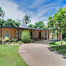 Rental info for FOUR BEDROOM HOUSE WITH POOL in the Darwin area