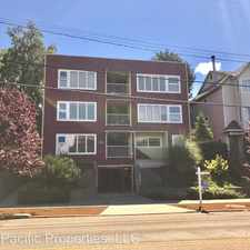 Rental info for 6708 California Ave SW - Unit 3 in the Seaview area