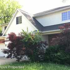 Rental info for 110 N Roosevelt St in the Bloomington area