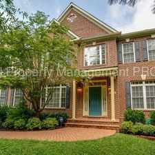 Rental info for Luxury 4 BR in Quiet, Wooded, Ideal Commuter Location! in the Fairfax area