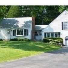 Rental info for House For Rent In Granby. Single Car Garage!