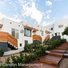 Rental info for 4018 Monroe Street in the East Hollywood area