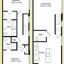 Rental info for 115 N Broadway Apartment 201