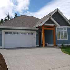 Rental info for Qualicum Beach- New 3 Br custom built bungalow fully furnished