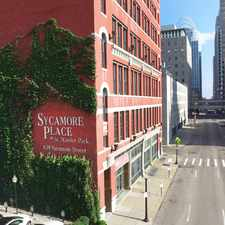 Rental info for Sycamore Place in the Central Business District area