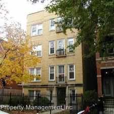Rental info for 3624-26 N. Greenview in the Chicago area
