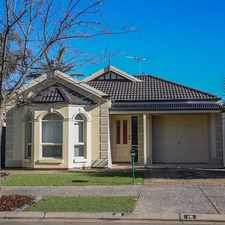 Rental info for A little gem in Mawson Lakes in the Adelaide area