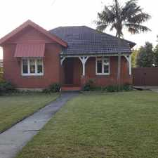 Rental info for LOW MAINTENANCE & RECENTLY UPDATED 3 BEDROOM HOUSE FOR RENT - GARDENING INCLUDED in the South Hurstville area
