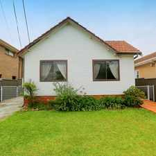 Rental info for 2 Bedroom Family Home in the Sydney area