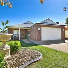 Rental info for Family Living In Splendid Location in the Mildura area