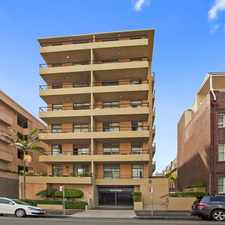 Rental info for UNFURNISHED TWO BEDROOM APARTMENT- CENTRAL MANLY in the Manly area