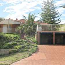 Rental info for BEACHFRONT PROPERTY in the Perth area
