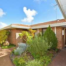 Rental info for Over 50's Complex in the Perth area