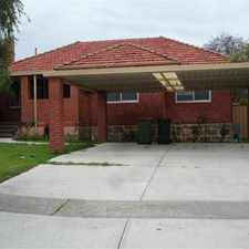 Rental info for $300pw- REDUCED and READY TO GO TODAY!!!! in the Bentley area