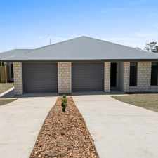 Rental info for Newly Built Duplex in Mount Kynoch in the Toowoomba area