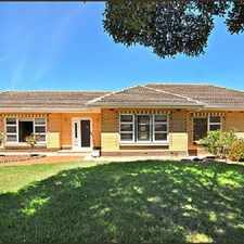 Rental info for FELIXSTOW - 3 bedrooms plus study in the Campbelltown area