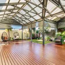 Rental info for STYLISH 3 OR 4 BEDROOM FAMILY HOME! in the Largs Bay area