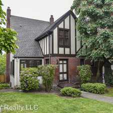 Rental info for 3252 10th Ave W in the North Queen Anne area