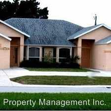 Rental info for 906 Cape Coral Pkwy