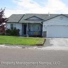 Rental info for 1914 W Curlew St. in the Nampa area