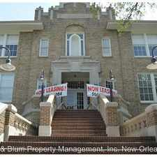 Rental info for 1215 Louisiana Ave. #301 in the Garden District area