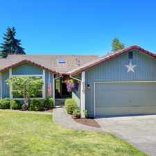 Rental info for Bright, Spacious, Single level living in the Puyallup Valley.