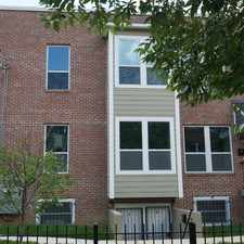 Rental info for W St SE in the Anacostia area