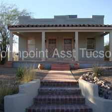 Rental info for U of A 4 Bedroom house for Fall Semester in the Sam Hughes area