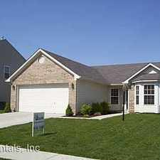 Rental info for 12146 Roundtree Rd in the Fishers area