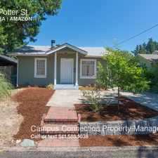 Rental info for 2417 Potter St in the Eugene area