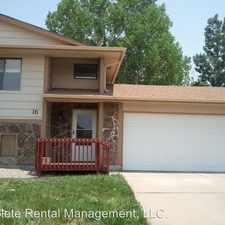 Rental info for 16 Ironweed Dr.