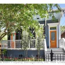 Rental info for 821 Aline St. in the Irish Channel area