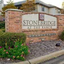 Rental info for Stonebridge at the Ranch