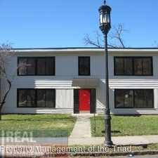 Rental info for 518 S. Mendenhall - Unit C in the College Hill area
