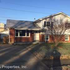 Rental info for 4007 Blossomwood Dr. in the St. Matthews area
