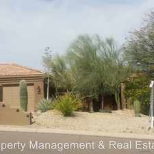 Rental info for 10606 N Indian Wells Dr.