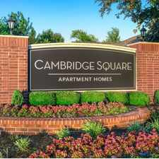 Rental info for Cambridge Square