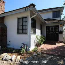 Rental info for 660 Westminster Drive in the Pasadena area