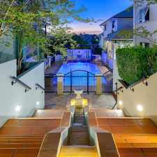 Rental info for STYLISH UNFURNISHED APARTMENT WITH PRIVATE COURTYARD! in the Brisbane City area