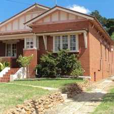 Rental info for SOUTH GOULBURN