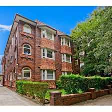 Rental info for GROUND FLOOR APARTMENT! in the Sydney area