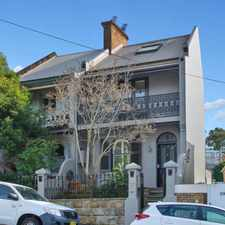Rental info for Renovated family home in the Balmain area