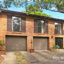 Rental info for FAMILY HOME IN PRIME LOCATION in the Parramatta area