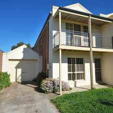 Rental info for Low Maintenance Two Storey Terrace Style Home in the Ballarat area