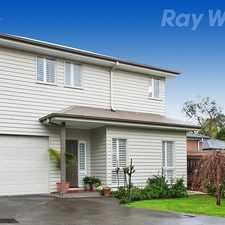 Rental info for MODERN LIVING IN THE HEART OF WARRANWOOD